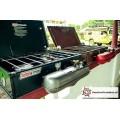 Coleman unleaded 2 424 campstove 2-pits benzine brander